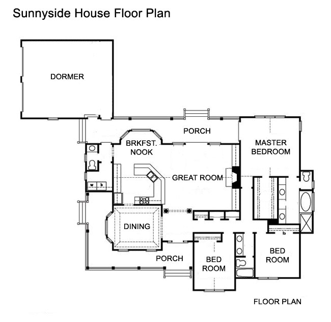 2 Master Suite House Floor Plans House Plans Home Designs